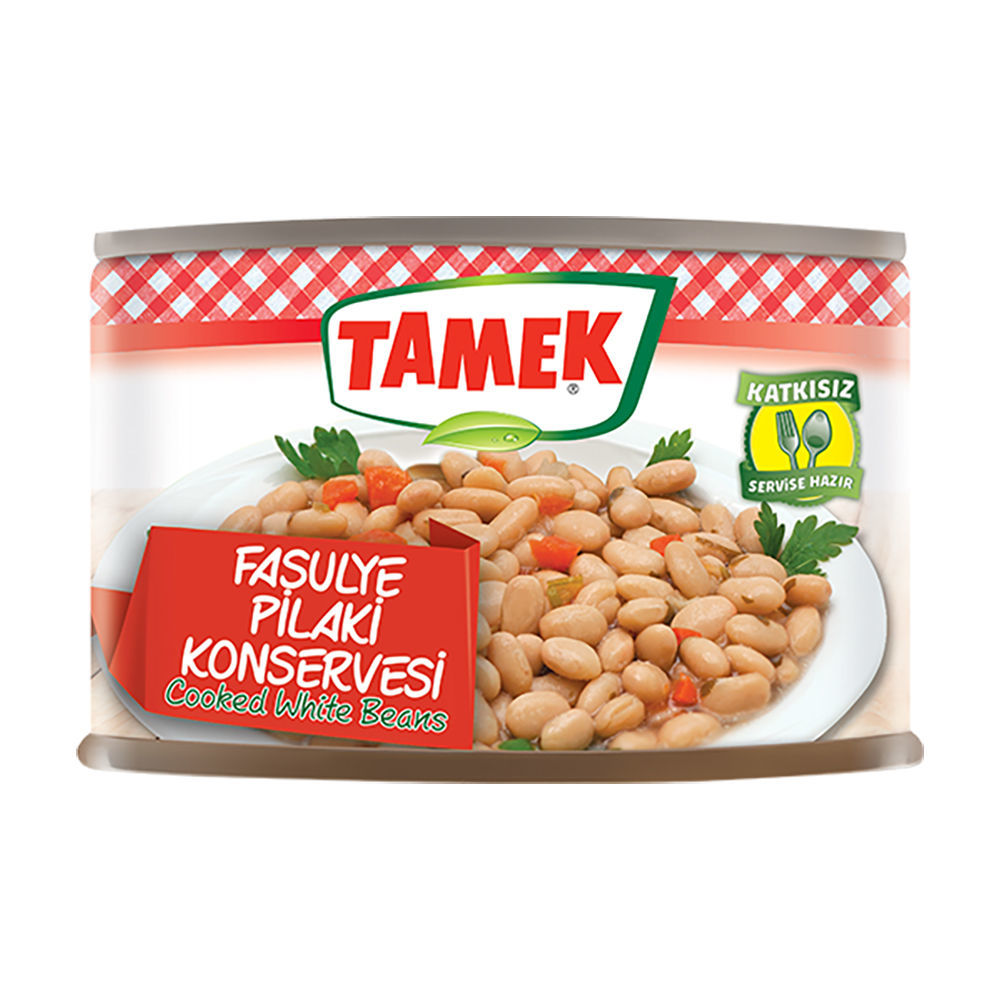 Picture of TAMEK White Beans in Sauce 400g