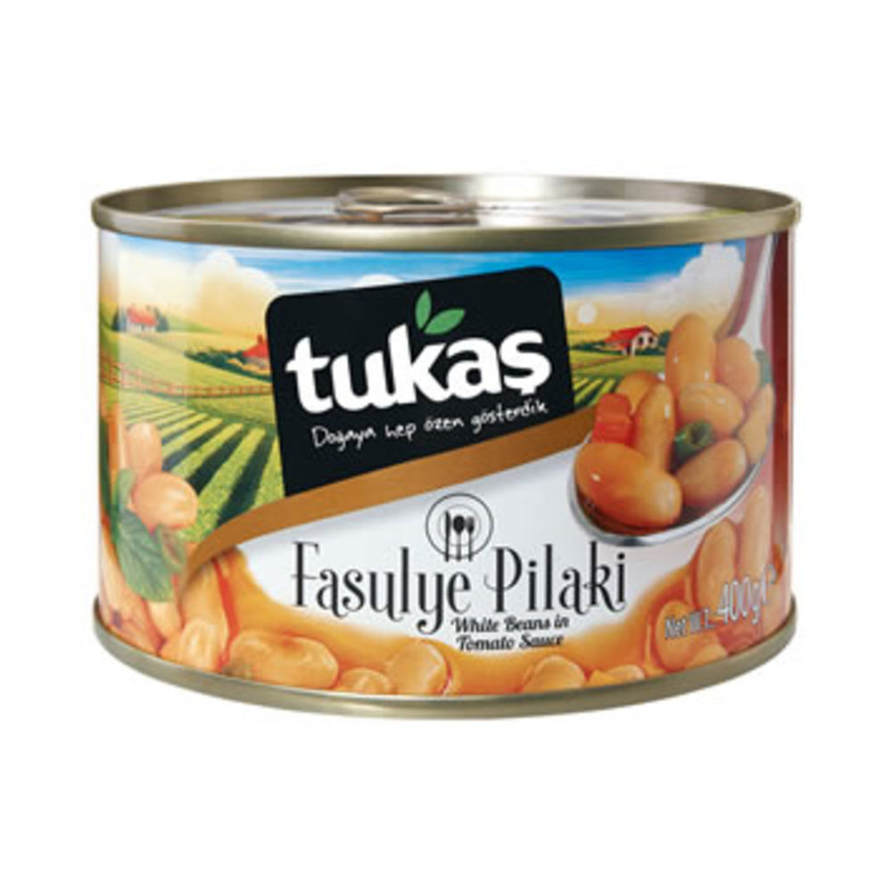 Picture of TUKAS White Beans in Sauce 400g