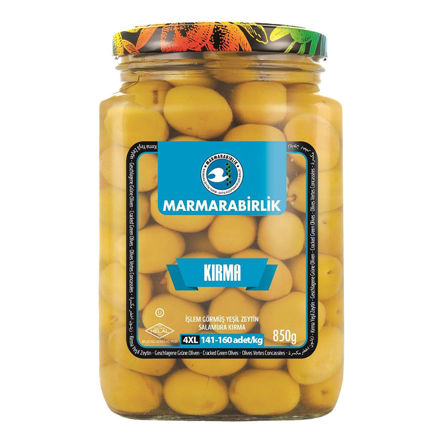 Picture of MARMARABIRLIK Cracked Green Olives 4XL 850g