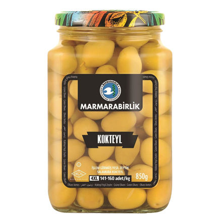 Picture of MARMARABIRLIK Cocktail Green Olives 4XL 850g