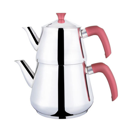 Picture of PAPATYAM Stainless Steel Tea Pot Set 3l