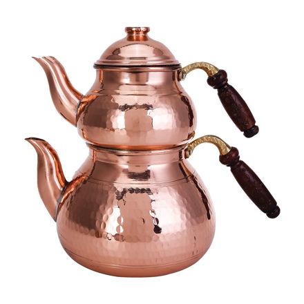 Picture of MORYA Copper Tea Pot Set 3lt