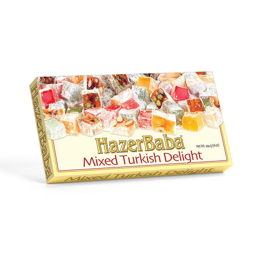 Picture of HAZERBABA Mixed Turkish Delight 454g