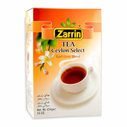 Zarrin Earl gray leaf tea 454 gr