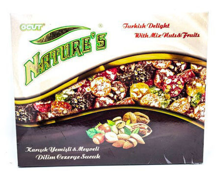 Picture of NATURE'S TURKISH DELIGHT WITH MIX NUTS & FRUITS