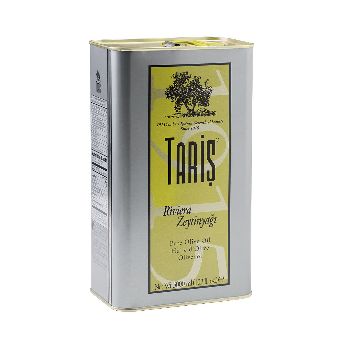 Picture of TARIS Pure Olive Oil 3lt