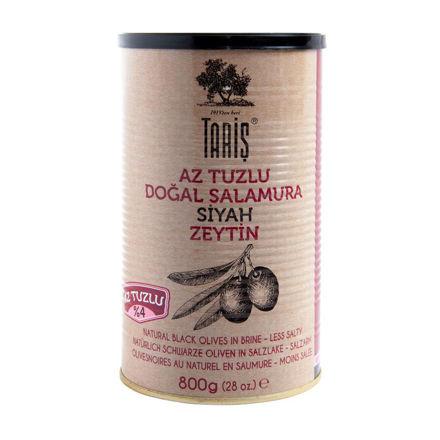 Picture of TARIS Low Salt Black Olives 800g