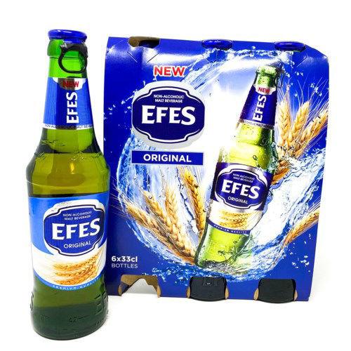 EFES NON ALCOHOLIC  MALT BEVERAGE / APPLE resmi