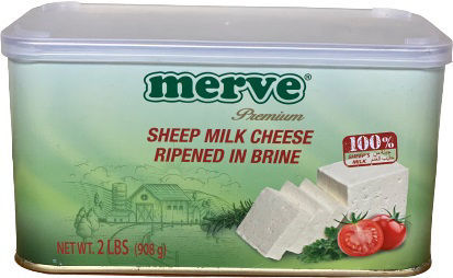 MERVE SHEEP CHEESE 908 GR TIN resmi