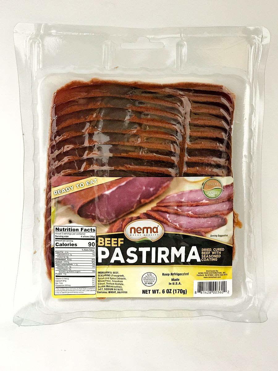 Nema Sliced Pastirma 6 oz. resmi