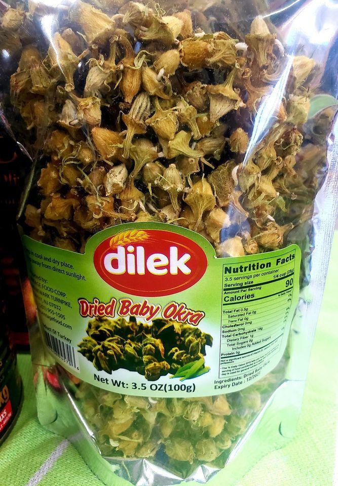 Picture of Dilek Dried Baby Okra ( Kuru Bamya) 100gr (2 pack)